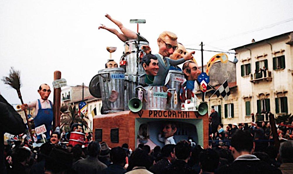 Il bidone di Arnaldo Galli - Complessi mascherati - Carnevale di Viareggio 1960