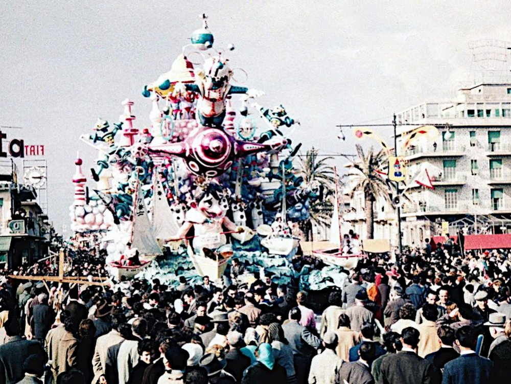 Non ci rubate il carnevale di Sergio Baroni - Carri grandi - Carnevale di Viareggio 1960