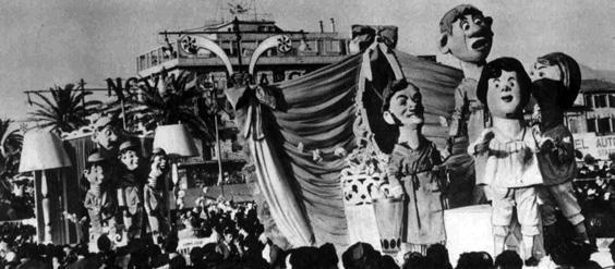 Anno da storia di Oreste Lazzari - Complessi mascherati - Carnevale di Viareggio 1961