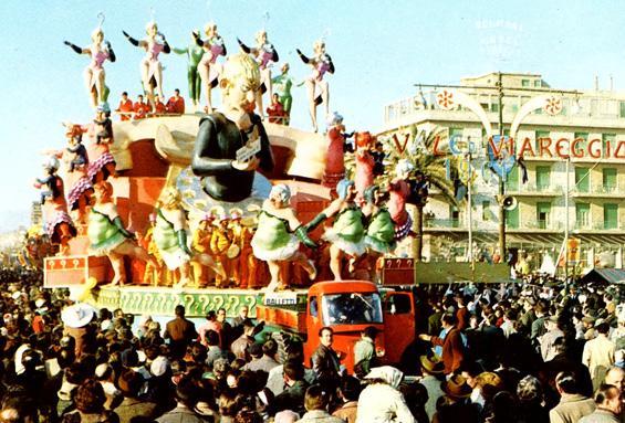 Balletti in technicolor di Silvano Avanzini - Carri grandi - Carnevale di Viareggio 1961