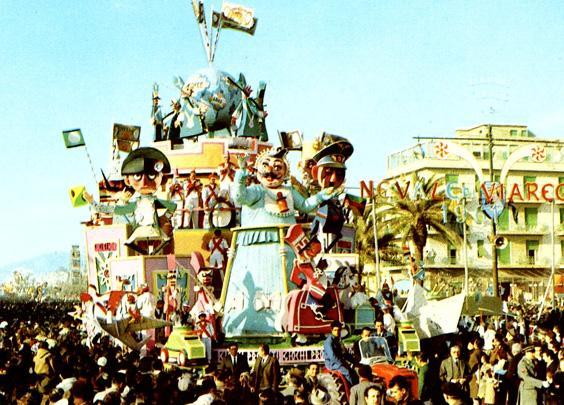 Giochi proibiti di Sergio Baroni - Carri grandi - Carnevale di Viareggio 1961