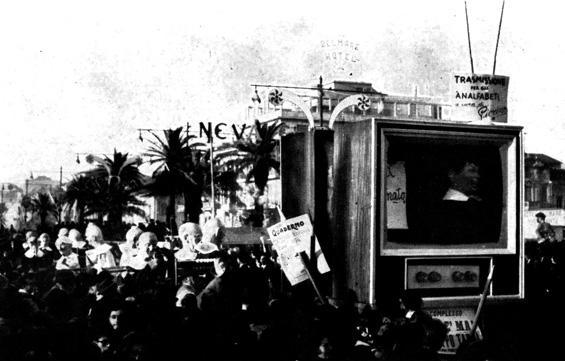 Non è mai troppo tardi di Francesco Francesconi - Complessi mascherati - Carnevale di Viareggio 1961