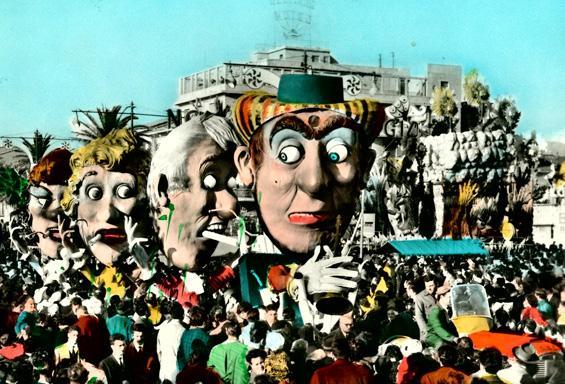 Super extra bachi di Eugenio Pardini - Complessi mascherati - Carnevale di Viareggio 1961