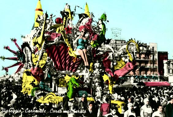 Appuntamento con Venere di Alfredo Pardini - Carri grandi - Carnevale di Viareggio 1962