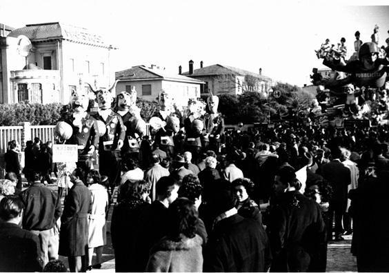 Concorso arbitri per titoli di Giovanni Pardini - Mascherate di Gruppo - Carnevale di Viareggio 1962