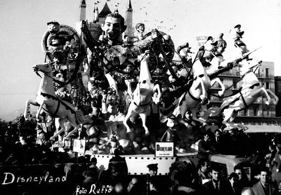 Disneyland di Ademaro Musetti - Carri grandi - Carnevale di Viareggio 1962