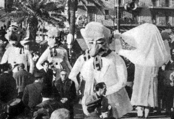 Il congresso del raffreddore di Mario Francesconi - Mascherate di Gruppo - Carnevale di Viareggio 1962