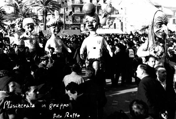 Italia '61 di Eros Canova - Mascherate di Gruppo - Carnevale di Viareggio 1962