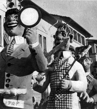 Programmi TV di Angelo Romani - Mascherate di Gruppo - Carnevale di Viareggio 1962