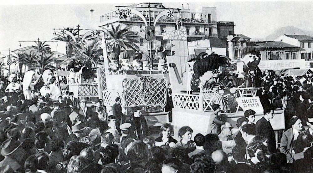 Società di fatto di Francesco Francesconi - Complessi mascherati - Carnevale di Viareggio 1962