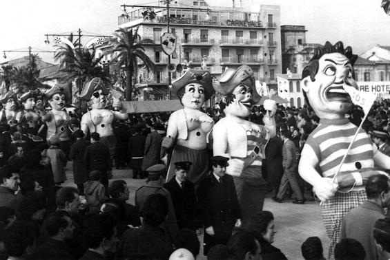 All'arrembaggio di Angelo Romani - Mascherate di Gruppo - Carnevale di Viareggio 1963