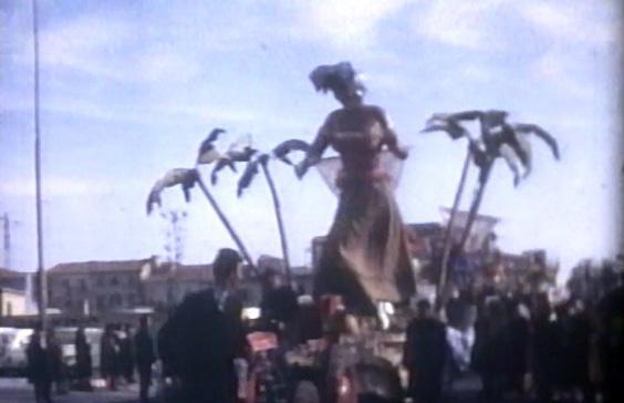 Basta la mossa di Francesco Francesconi - Complessi mascherati - Carnevale di Viareggio 1963