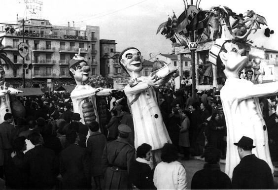I sonnambuli di Giovanni Pardini - Mascherate di Gruppo - Carnevale di Viareggio 1963