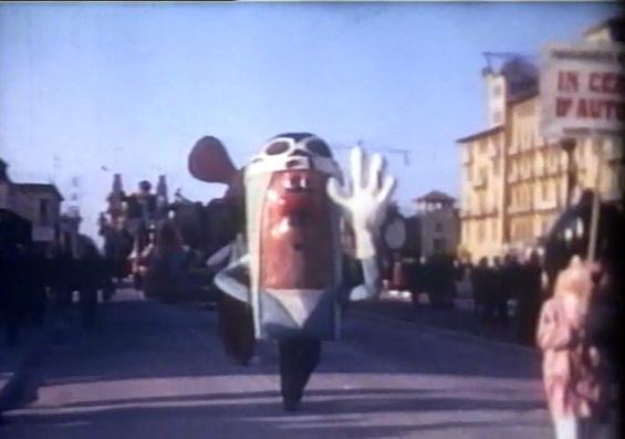 In cerca dell'autore di Mario Francesconi - Mascherate di Gruppo - Carnevale di Viareggio 1963