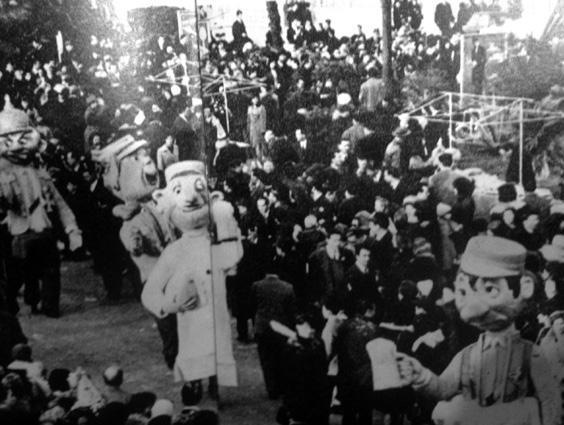 I giovani beoni di Angelo Romani - Mascherate di Gruppo - Carnevale di Viareggio 1964