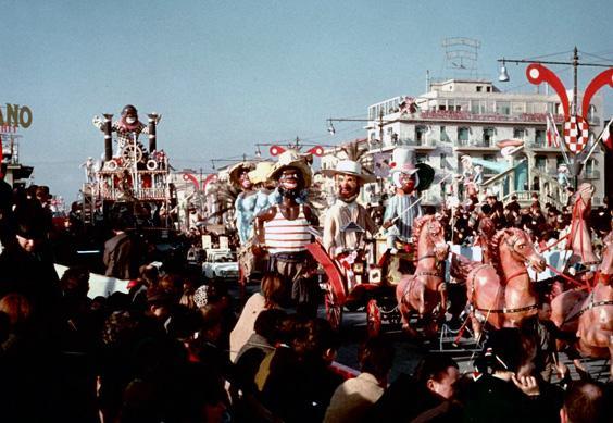 Jazz band di Davino Barsella - Mascherate di Gruppo - Carnevale di Viareggio 1964