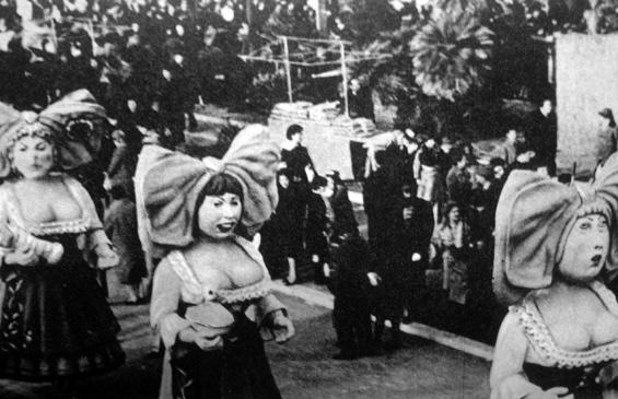 Le belle alsaziane di Mario Francesconi - Mascherate di Gruppo - Carnevale di Viareggio 1964