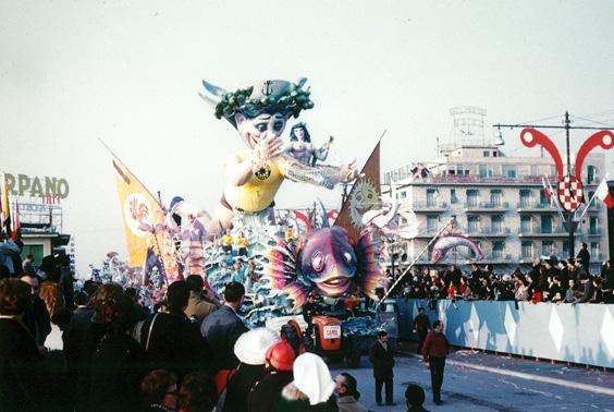 Nozze sul mare di Sergio Baroni - Carri grandi - Carnevale di Viareggio 1964