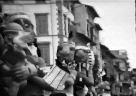 Calumet della pace di Davino Barsella - Mascherate di Gruppo - Carnevale di Viareggio 1965