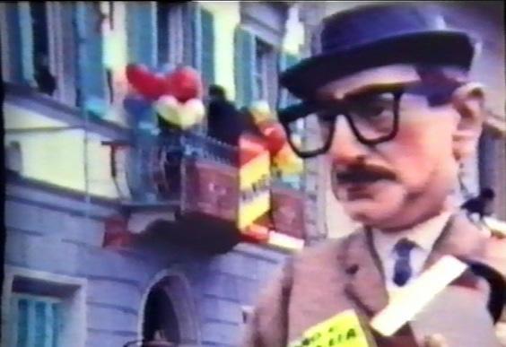 Il signore di mezza età di Mario Francesconi - Mascherate di Gruppo - Carnevale di Viareggio 1965