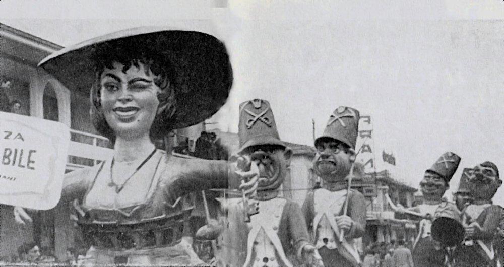 La fortezza inespugnabile di Angelo Romani - Mascherate di Gruppo - Carnevale di Viareggio 1965