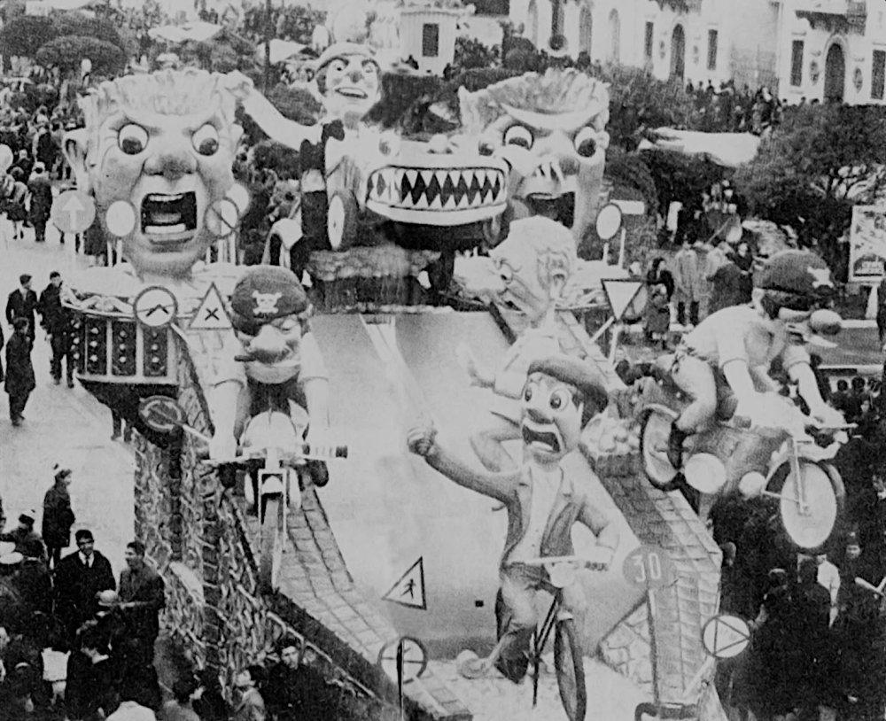 La strada di Alfredo e Valeriano Pardini - Complessi mascherati - Carnevale di Viareggio 1965