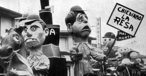 Le grandi battaglie di Fabio Romani - Mascherate di Gruppo - Carnevale di Viareggio 1965