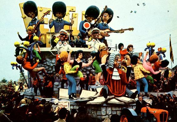 Questo nostro tempo di Carlo Francesconi, Sergio Barsella - Carri grandi - Carnevale di Viareggio 1965