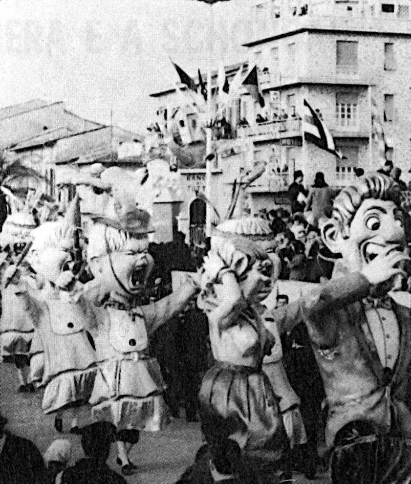 Accadde una notte di Sandro Bertuccelli - Mascherate di Gruppo - Carnevale di Viareggio 1966