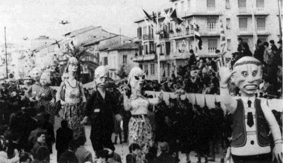 Ariani si nasce di Fabio Romani - Mascherate di Gruppo - Carnevale di Viareggio 1966