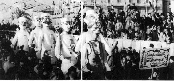 Chirurgia estetica di Angelo Romani - Mascherate di Gruppo - Carnevale di Viareggio 1966