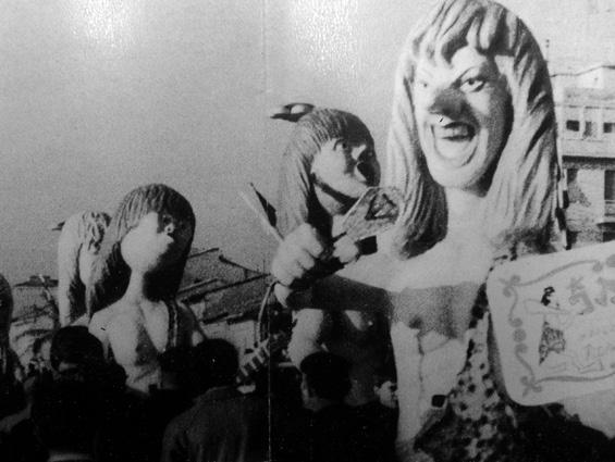 I Rolling Stones di Eros Canova - Mascherate di Gruppo - Carnevale di Viareggio 1966