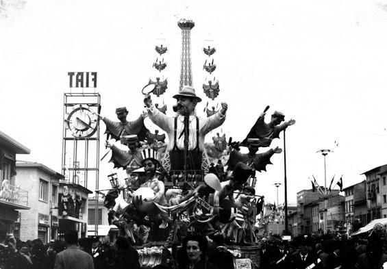 Un consiglio per Maigret di Carlo Vannucci - Carri grandi - Carnevale di Viareggio 1966