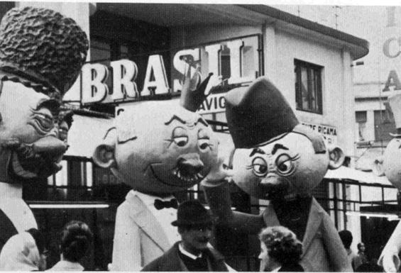 Centro rifornimenti di Angelo Romani - Mascherate di Gruppo - Carnevale di Viareggio 1967