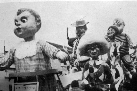 Cinema didattico di Vittorio Lippi - Complessi mascherati - Carnevale di Viareggio 1967