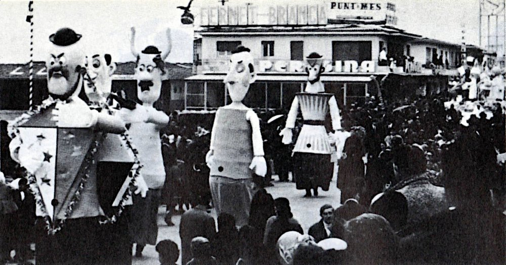 Congresso ad alto livello di Fabio Malfatti - Mascherate di Gruppo - Carnevale di Viareggio 1967