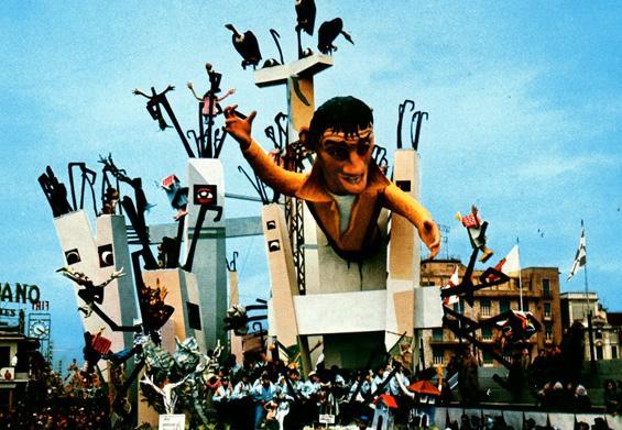 Dove andranno gli innamorati di Arnaldo Galli - Carri grandi - Carnevale di Viareggio 1967