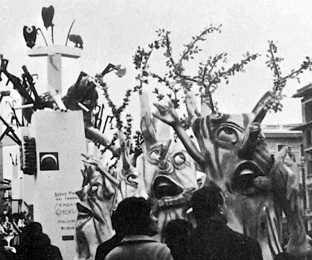 Dove andranno gli innamorati di Fabio Romani - Mascherate di Gruppo - Carnevale di Viareggio 1967
