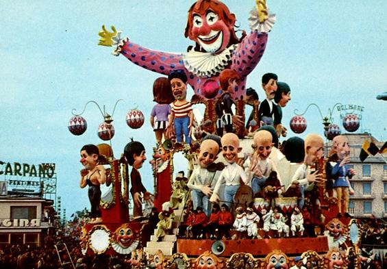 Guardiamoci allo specchio di Ademaro Musetti - Carri grandi - Carnevale di Viareggio 1967