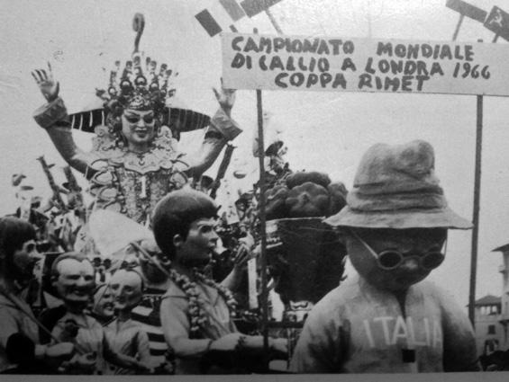 Incremento al piano verde di Eros Canova - Mascherate di Gruppo - Carnevale di Viareggio 1967