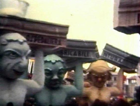 Le cariatidi di Giovanni Pardini - Mascherate di Gruppo - Carnevale di Viareggio 1967