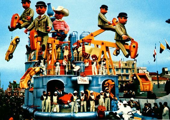 Le vie del petrolio di Renato Galli - Carri grandi - Carnevale di Viareggio 1967
