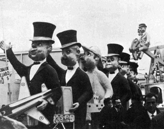 Per qualche dollaro in più di Davino Barsella - Mascherate di Gruppo - Carnevale di Viareggio 1967