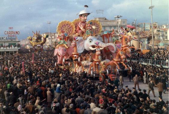 Annibale '68 di Ademaro Musetti - Carri grandi - Carnevale di Viareggio 1968