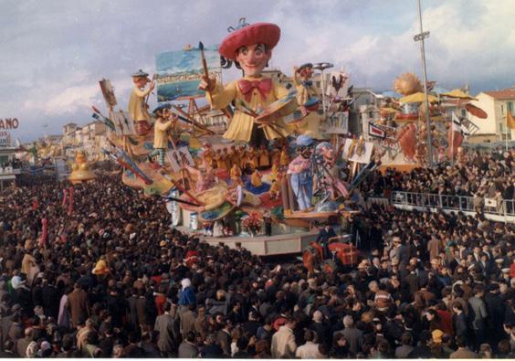 La ricerca di Renato Galli - Carri grandi - Carnevale di Viareggio 1968