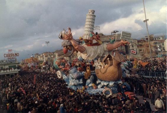 Qualcosa da salvare di Giuseppe Domenici - Carri grandi - Carnevale di Viareggio 1968