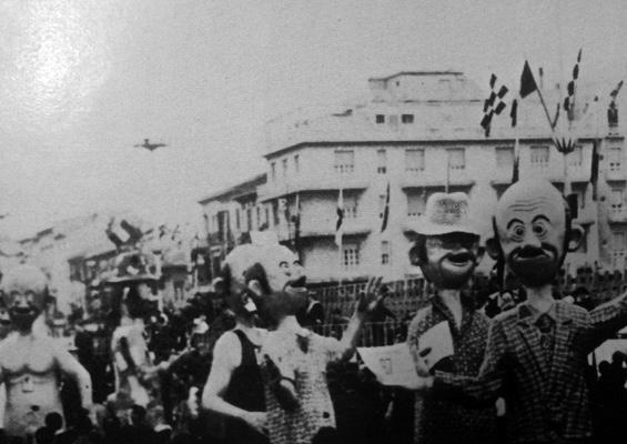 67 a Cagliari di Eros Canova - Mascherate di Gruppo - Carnevale di Viareggio 1969