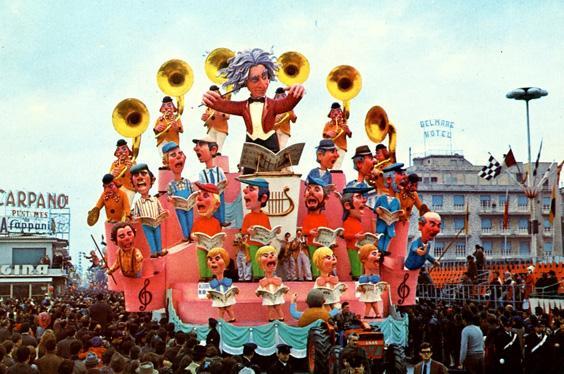Allegretto ma non troppo di Renato Galli - Carri grandi - Carnevale di Viareggio 1969