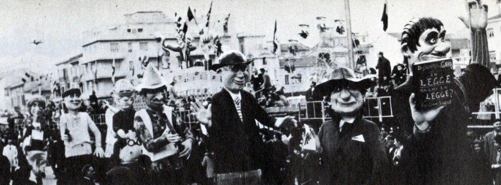 Anonima sequestri di Fabio Romani - Mascherate di Gruppo - Carnevale di Viareggio 1969