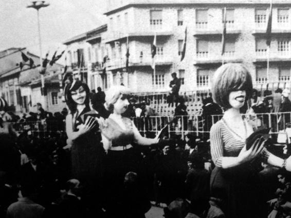 Canasta benefica di Mario Francesconi - Mascherate di Gruppo - Carnevale di Viareggio 1969